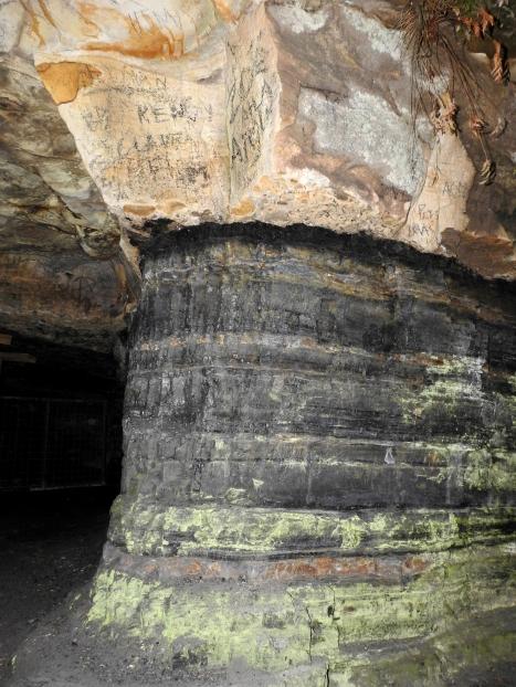 Erith Coal Mine seam