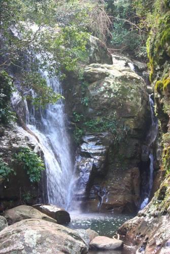 Magical cascades at Macquarie Pass National Park
