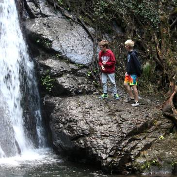 Cascades Trail, Macquarie Pass National Park a perfect trail for little... and big explorers in the Illawarra
