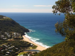 Views from Mount Mitchell, Stanwell Park, Illawarra, New South Wales