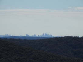 Views to Sydney from Mount Mitchell, Stanwell Park