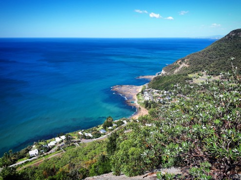 View to Coalcliff from the Forest Path, Stanwell Park